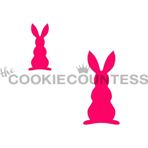 Bunny Silhouette 2 sizes
