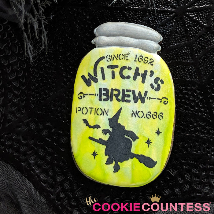 Witch's Brew Poison Label