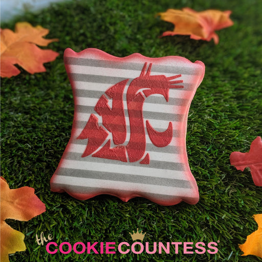 College Stencil - Washington WSU Cougars