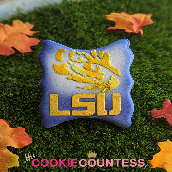 College Stencil - Louisiana State - LSU