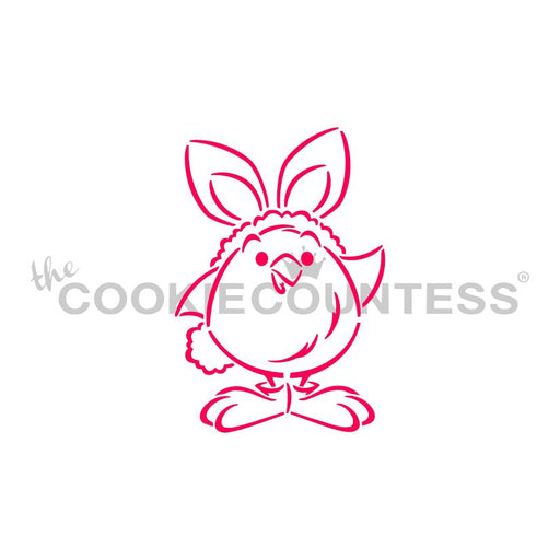Drawn With Character  Fluffy Chick in Bunny Costume