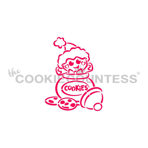 Drawn with Character Cookie Jar Gingerbread