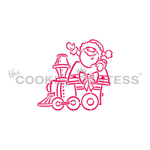 Drawn with Character -Christmas train- Santa Engine