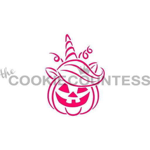 Drawn with Character Unicorn Pumpkin PYO