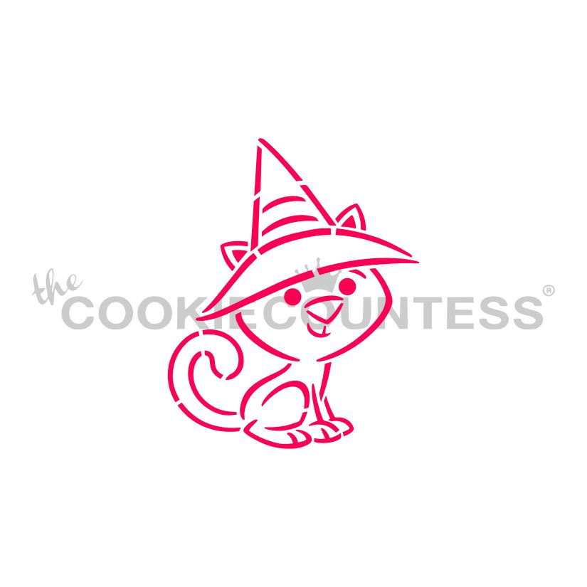 Drawn with Character Witchy Kitten