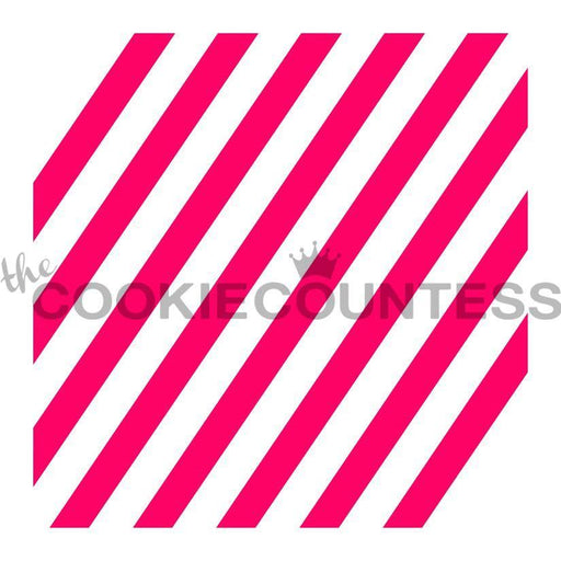 Diagonal Wide Stripe