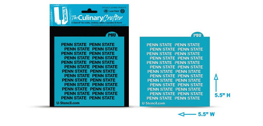 College Stencil-Penn State  Repeat