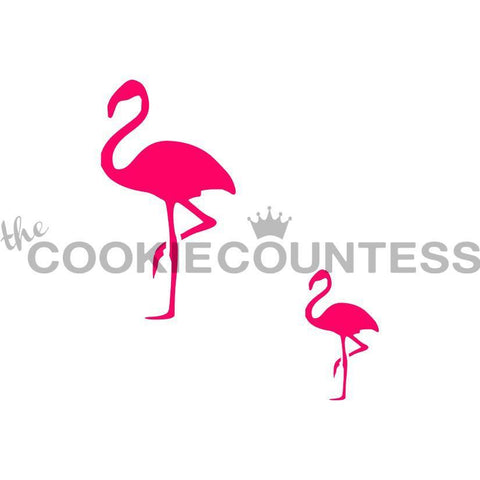 Flamingo in 2 sizes