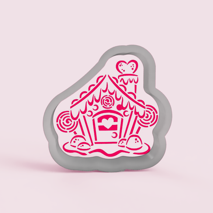 Gingerbread House PYO Cookie Cutter