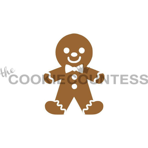 2 Piece GIngerbread Man