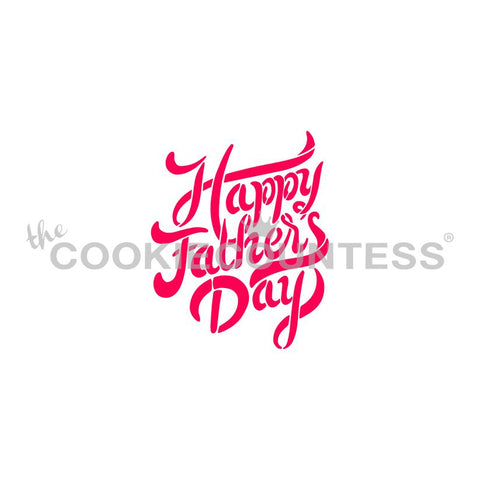 Happy Father's Day Brush Script