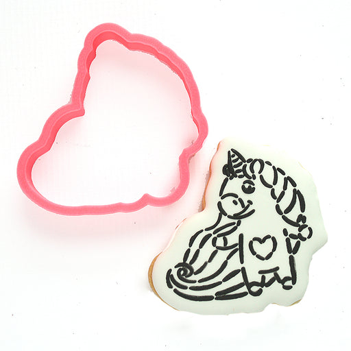 Unicorn with Heart Cutter