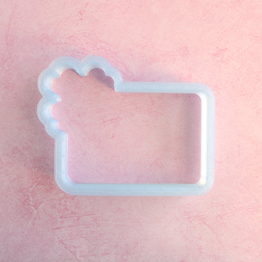 Feelin' Lucky Plaque - Large Cookie Cutter