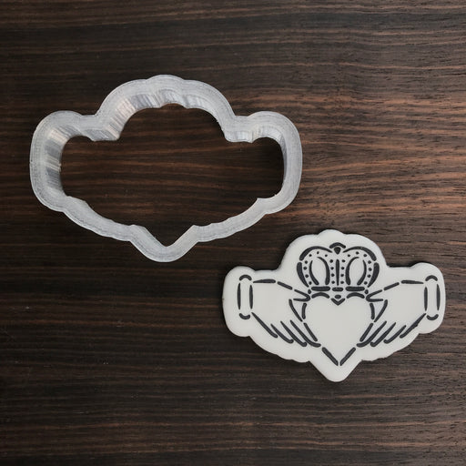 Claddagh Cookie Cutter