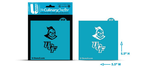 College Stencil -University of Central Florida - Knight & UCF