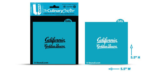 College Stencil -   California-Berkeley Golden Bear Script
