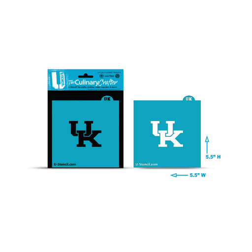 College Stencil - Kentucky UK