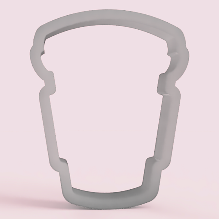Latte Cup Cookie Cutter