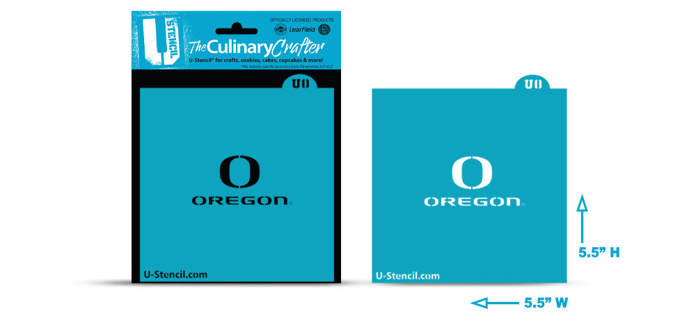College Stencil -Oregon University - Oregon
