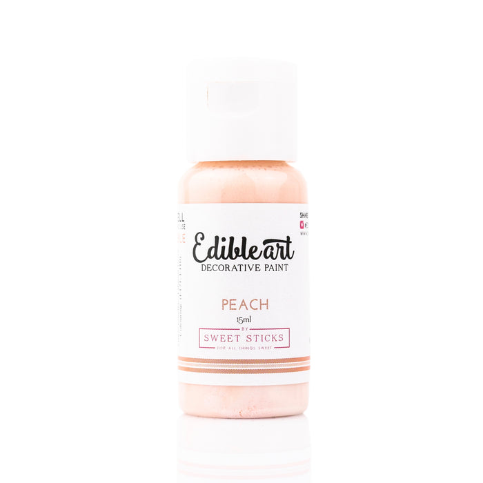Edible Art Edible Paint - Peach 15ml