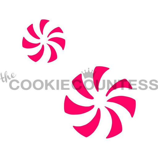 Peppermint Swirls 2 sizes