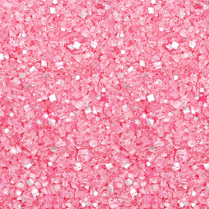 Glittery Sugar - Princess Cut Pink