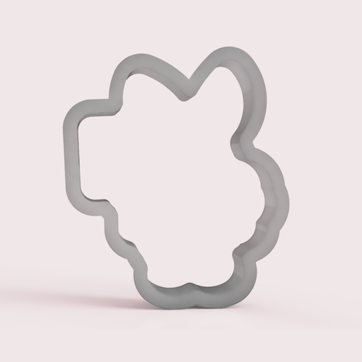 Bunny & Sign Cookie Cutter