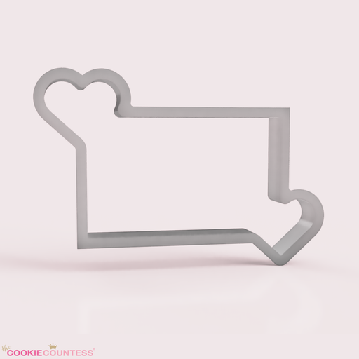 You Have My Heart Cornered - Large Cookie Cutter