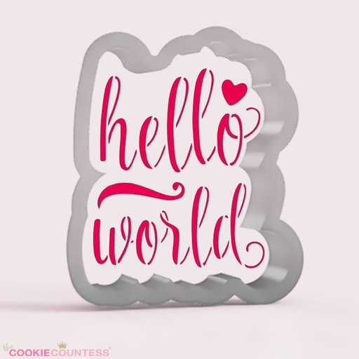 Hello world  - Cookie Cutter