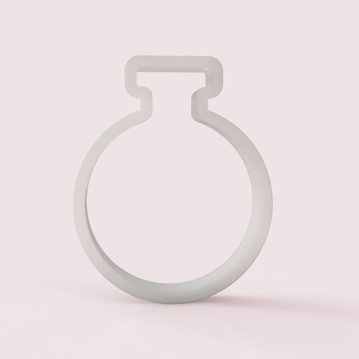 Round Bottom Flask Cookie Cutter