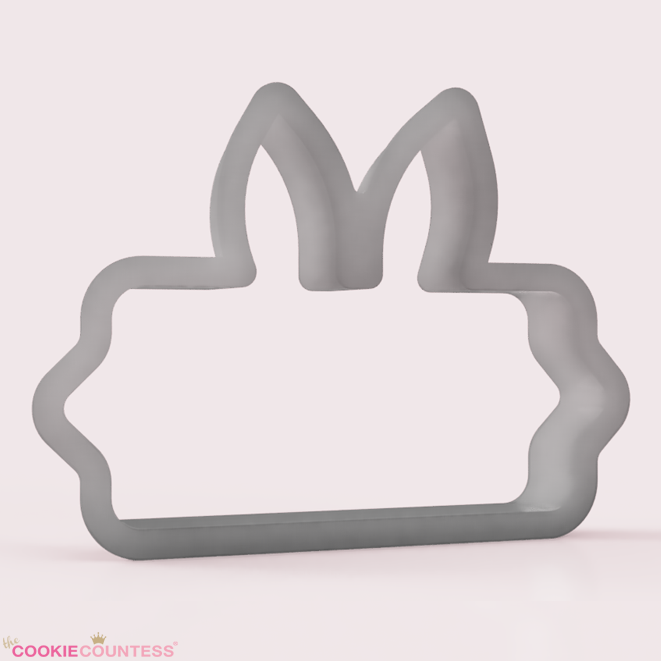 Some Bunny Loves You Plaque - Cookie Cutter