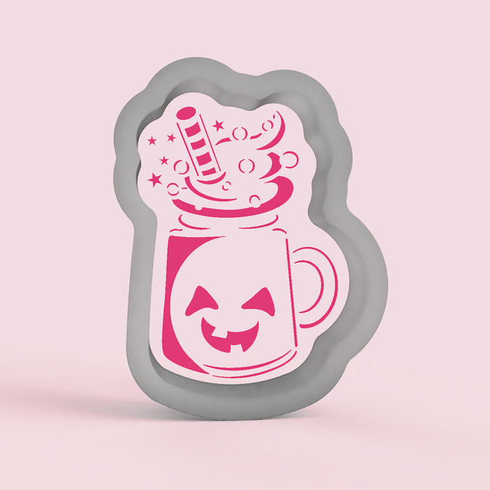 Spooky Milkshake Cookie Cutter