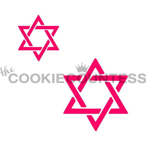 Star of David 2 sizes