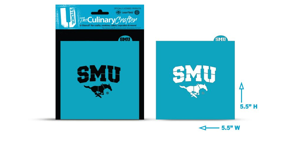 College Stencil -Southern Methodist University (SMU Mustangs)