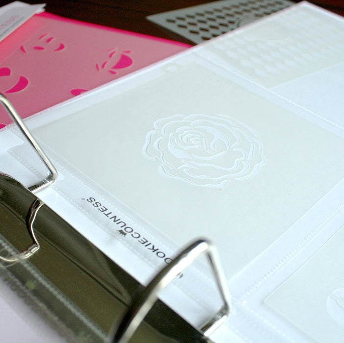 Stencil Storage Pocket Pages