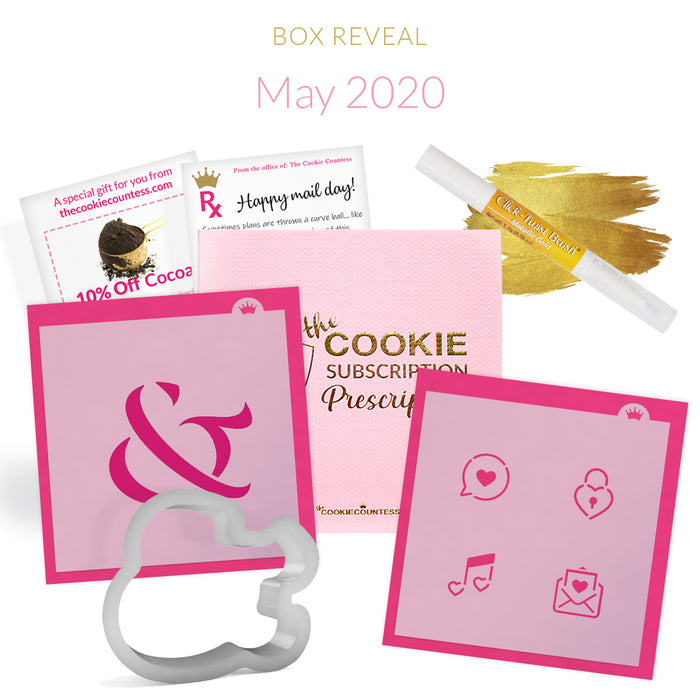 May 2020 Cookie Subscription Prescription Box