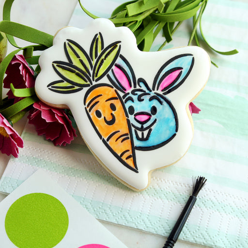 Carrot and Bunny Buddies- Cookie Cutter