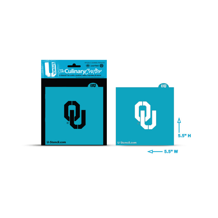 College Stencil - Oklahoma University