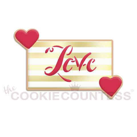 You Have My Heart Cornered -large  Cookie Cutter