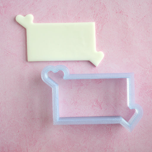 You Have My Heart Cornered SMALL - Cookie Cutter