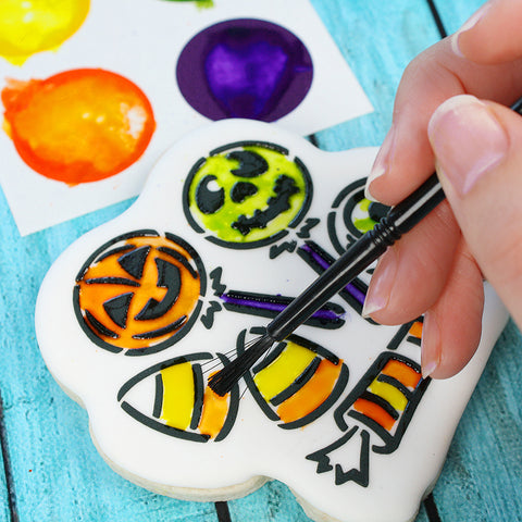 PYO Edible Paint Palettes - HALLOWEEN colors