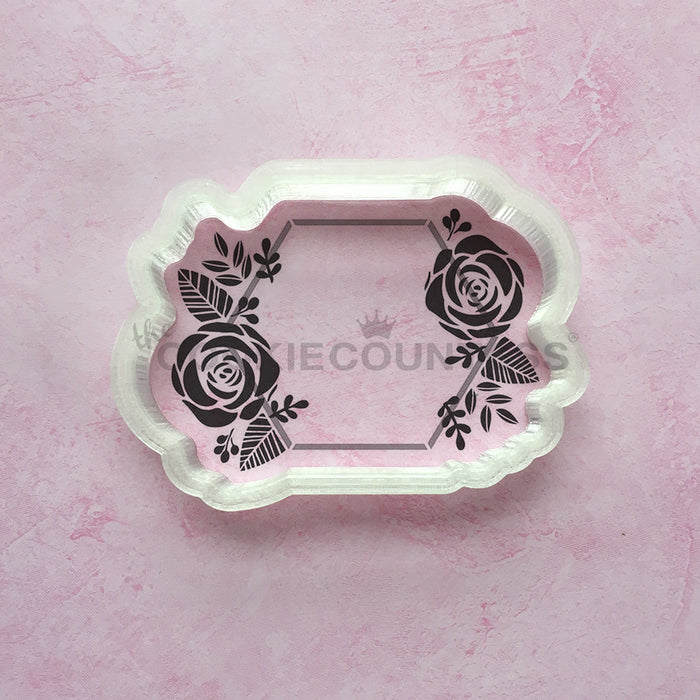 Hexagon and Flowers (Cutter only)