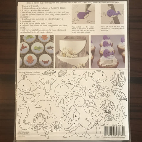 Sweet Elite Pattern Sheets - Under the Sea