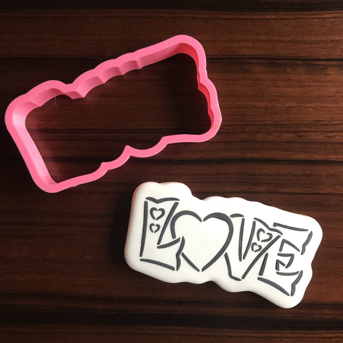 LOVE Cookie Cutter ONLY
