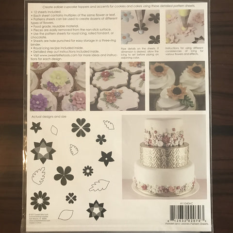Sweet Elite Pattern Sheets - Flowers & Leaves
