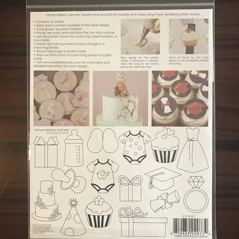 Sweet Elite Pattern Sheets - Celebrations