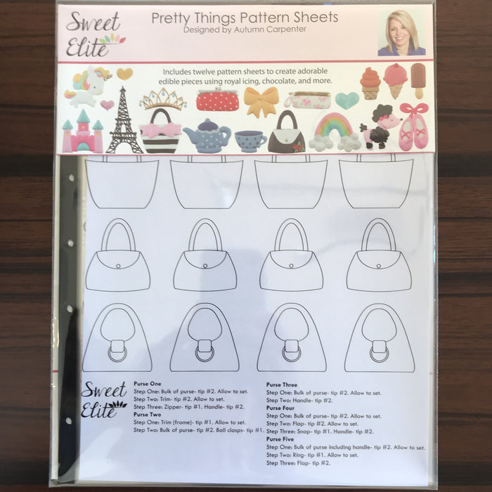 Sweet Elite Pattern Sheets - Pretty Things