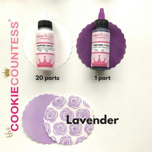 Cookie Countess Edible Airbrush Set - Essentials set of 12