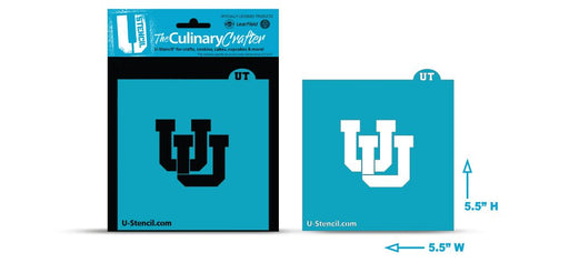 College Stencil -University of Utah -UU