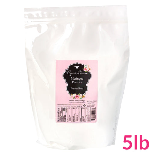 Genie's Dream Meringue Powder 5lb